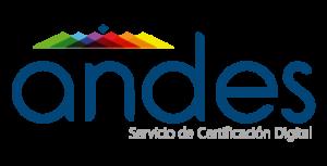 Logo andes servicio de certificación digital